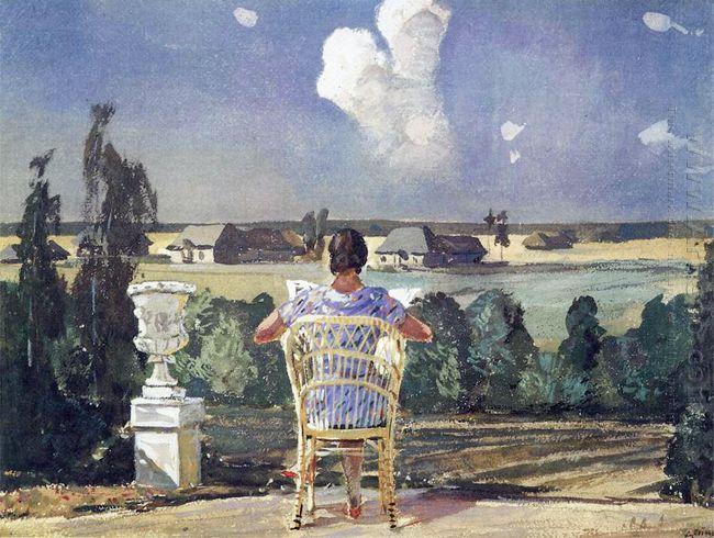 in the park mikhailovskoye 1946