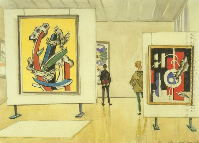 leger museum in antibes 1962