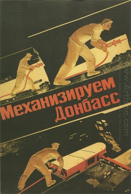 mechanize donbas 1930