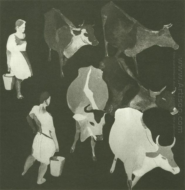 milkmaids 1929