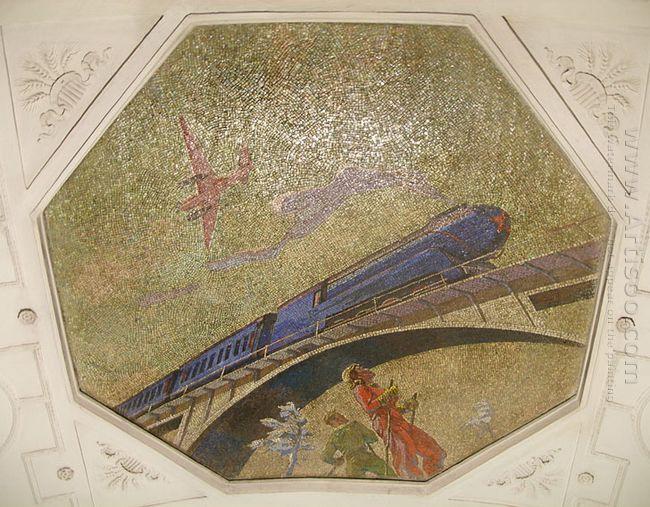 mosaic art metro novokuznetskaya 5 1943