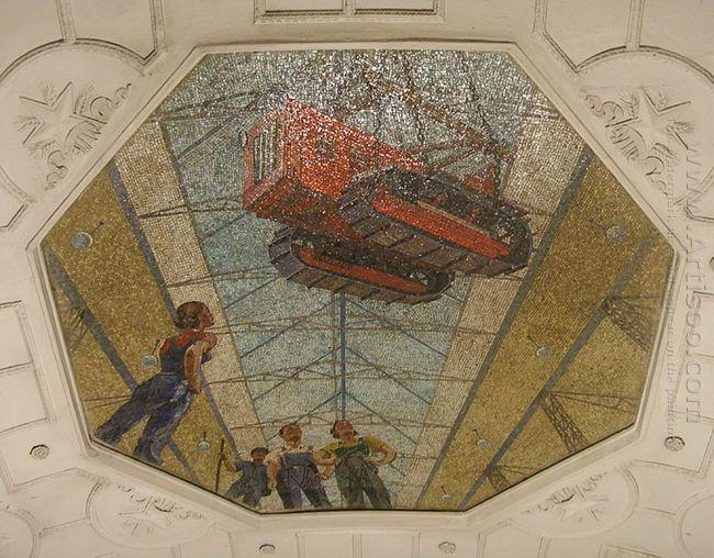 mosaic art metro novokuznetskaya 6 1943
