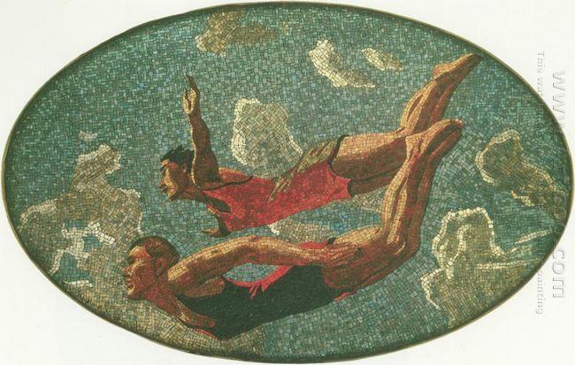 mosaic art m mayakovkskaya 02 1938