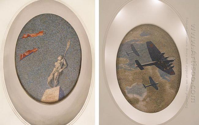 mosaic art m mayakovkskaya 05 06 1938