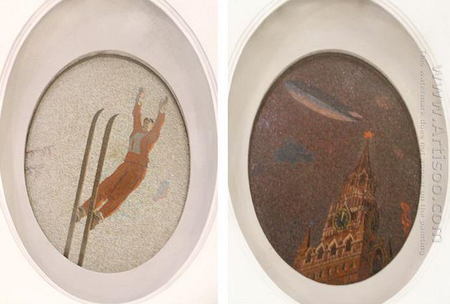 mosaic art m mayakovkskaya 09 10 1938