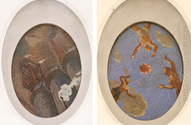 mosaic art m mayakovkskaya 21 22 1938