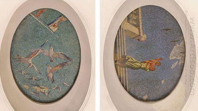 mosaic art m mayakovkskaya 27 28 1938