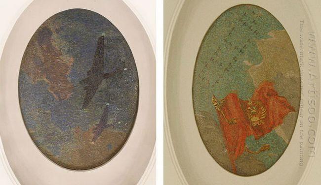 mosaic art m mayakovkskaya 29 30 1938