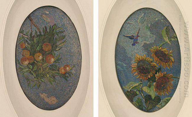 mosaic art m mayakovkskaya 31 32 1938