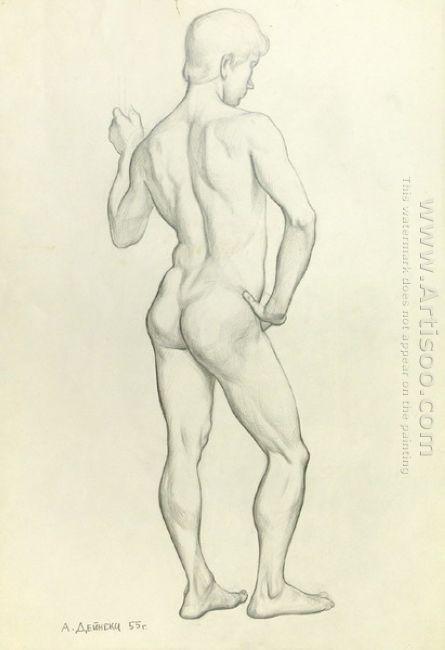 naked sitter 1955