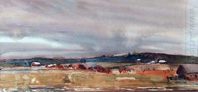 podmoskovny landscape 1933