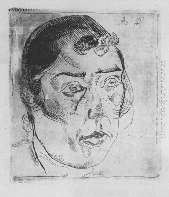 portrait of a woman 1921
