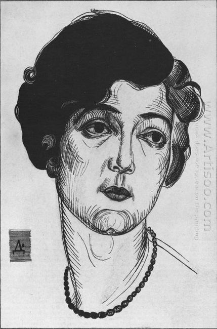 portrait of a woman 1922