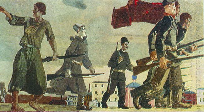 rise of the year esk painting for vshv 1939