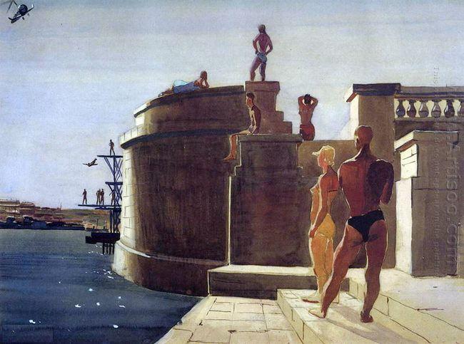 sevastopol water station dinamo 1934