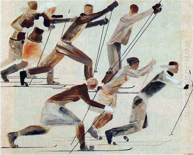 skiers 1931