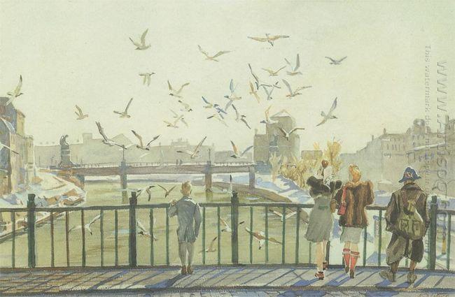 springtime in vienna 1947