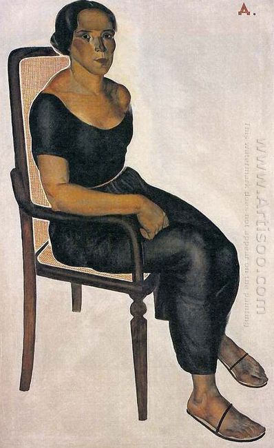 the girl on the chair 1924