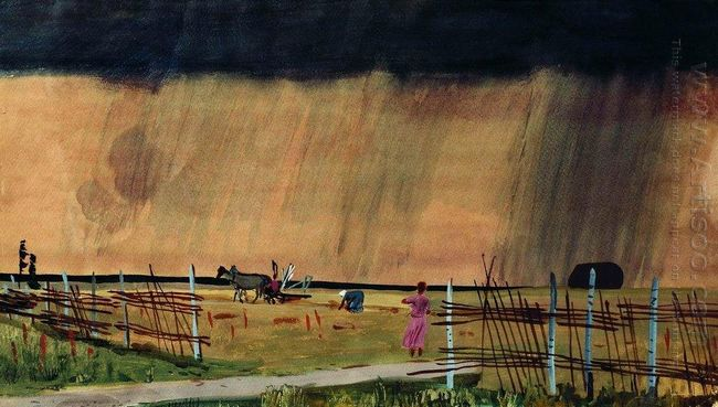 the storm comes rain 1934