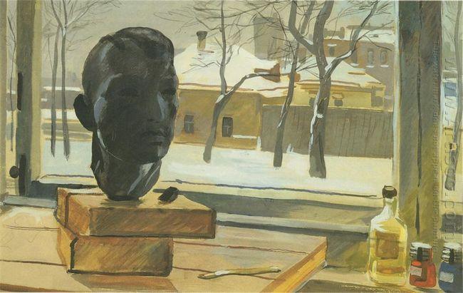 window in the studio 1939