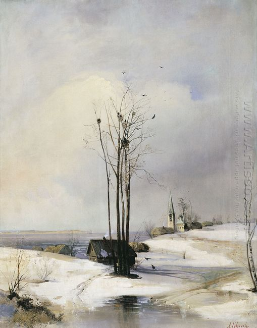 early spring thaw 1885