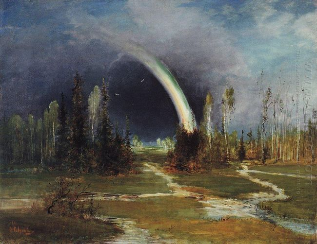 landscape with a rainbow 1881