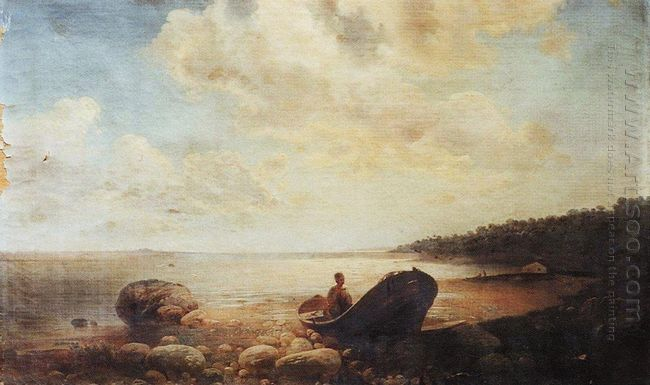 landscape with boat
