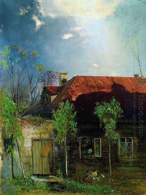 little house in the province spring 1878