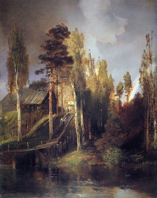 monastery gates 1875