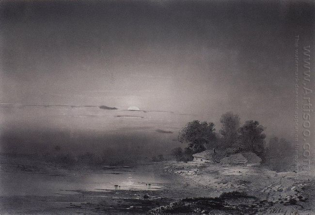 moonlit night 1853