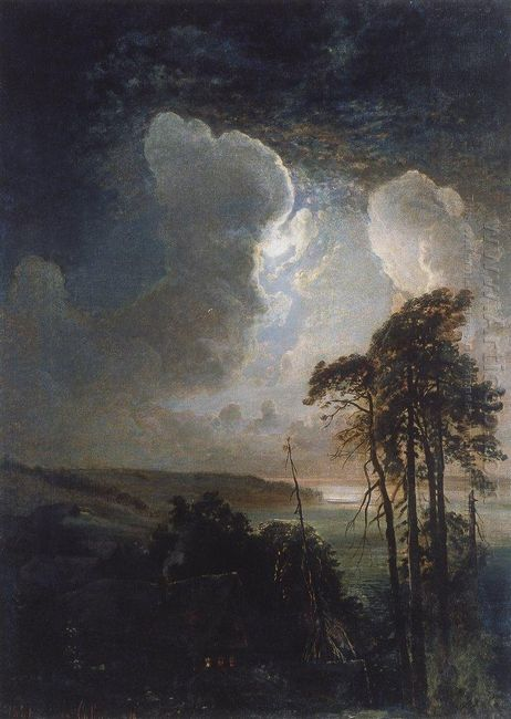 night on the sparrow hills 1881