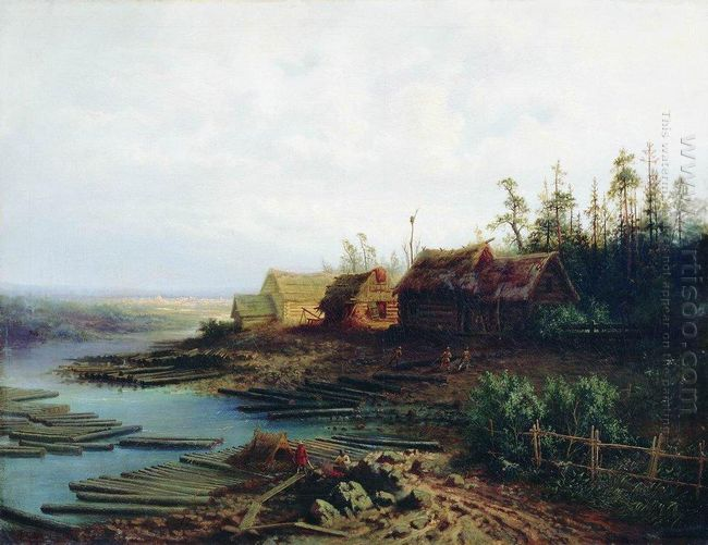rafts 1868