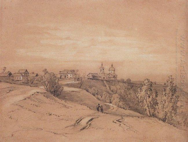 sparrow hills near moscow
