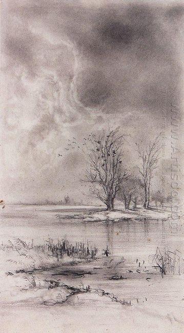 spring landscape 1890 1