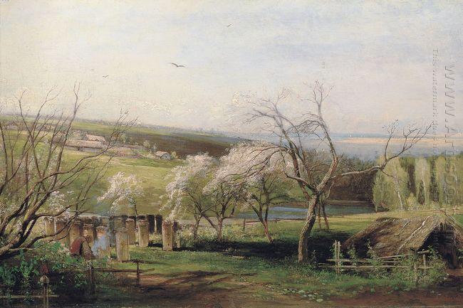 spring village view 1867