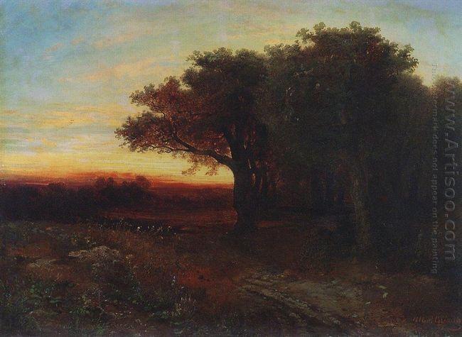 sunset 1862