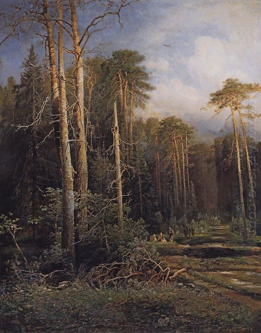the road in the woods 1871