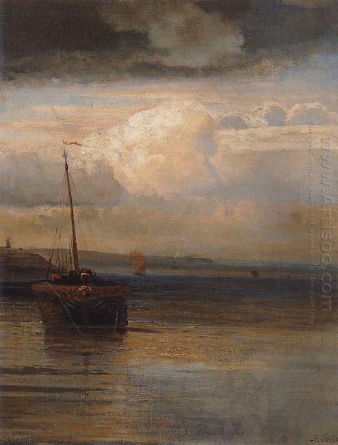 volga landscape 1870