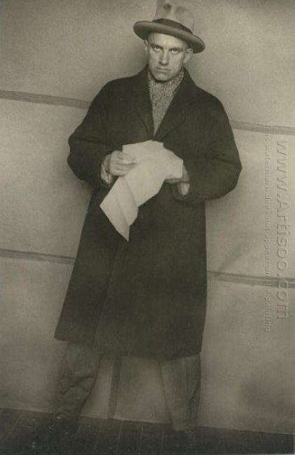 vladimir mayakovsky 1924