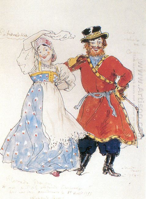 a coachman and a nurse costume design