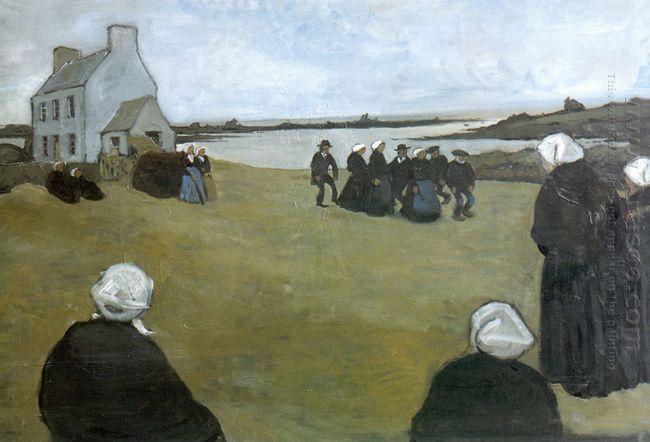 breton dancing 1906
