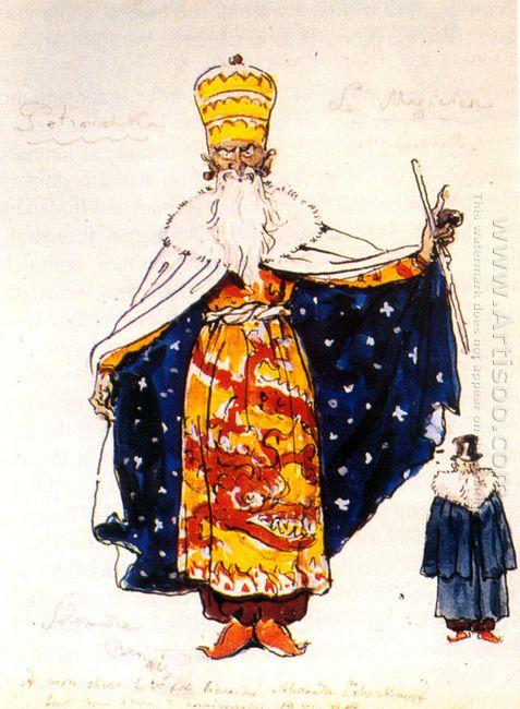 magician costume design