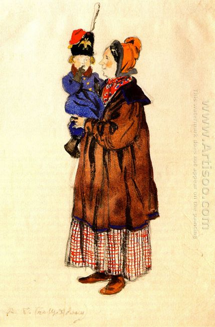 nurse and child costume design