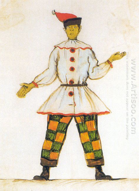 petrushka costume design for vatslav nijinsky