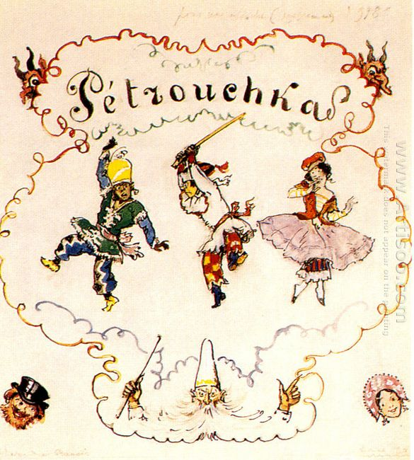 petrushka poster scetch