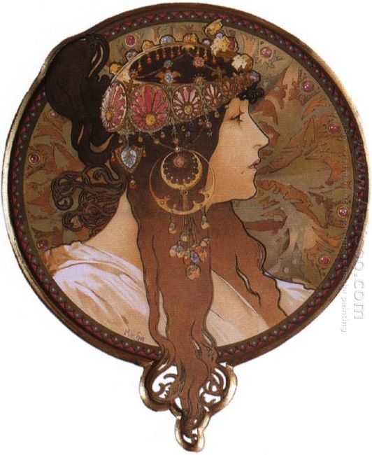 byzantine head the brunette 1897