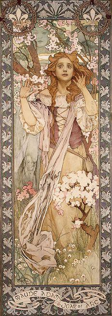 maude adams as joan of arc 1909