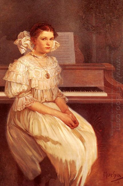 portrait of milada cerny