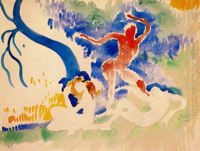 bacchus dance 1906