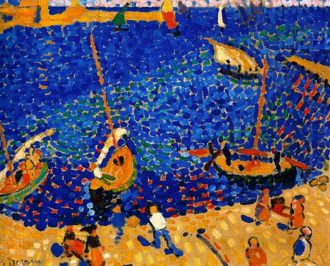 boats at collioure 1905